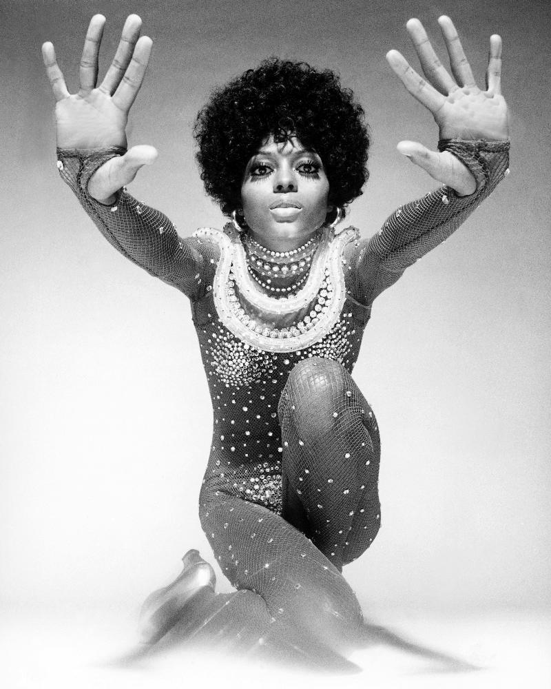 Diana Ross - Most successful female music artist of all time in the UK and US