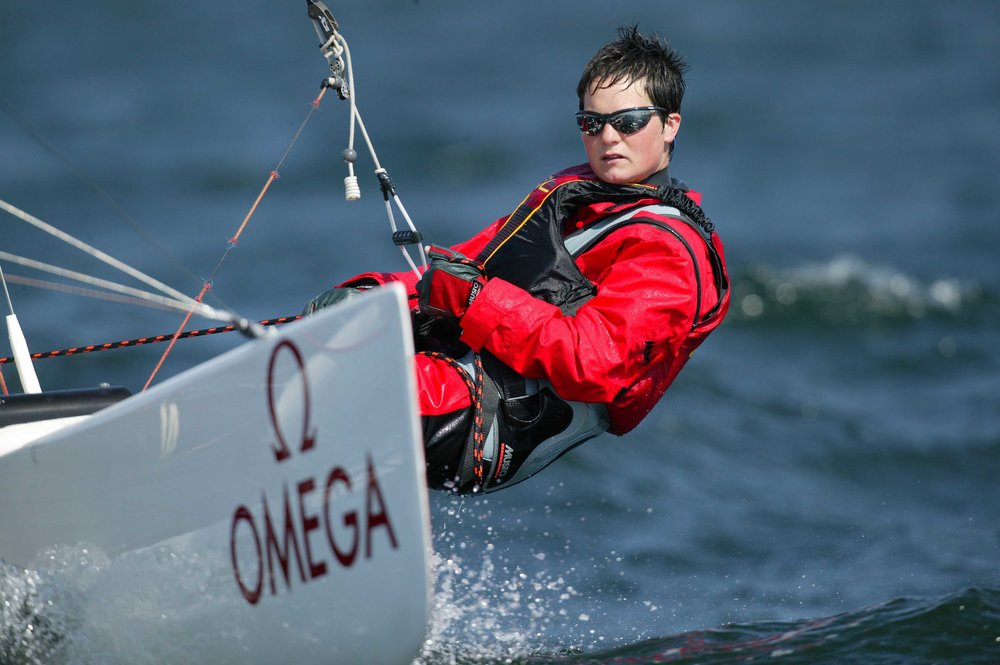 Ellen MacArthur - Former record holder for the fastest solo circumnavigation of the globe