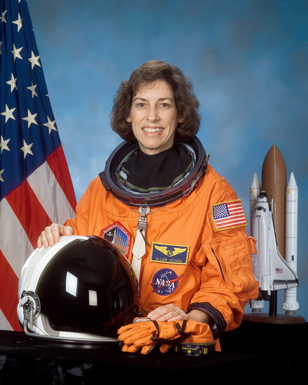 Ellen Ochoa  - First Hispanic woman in Space