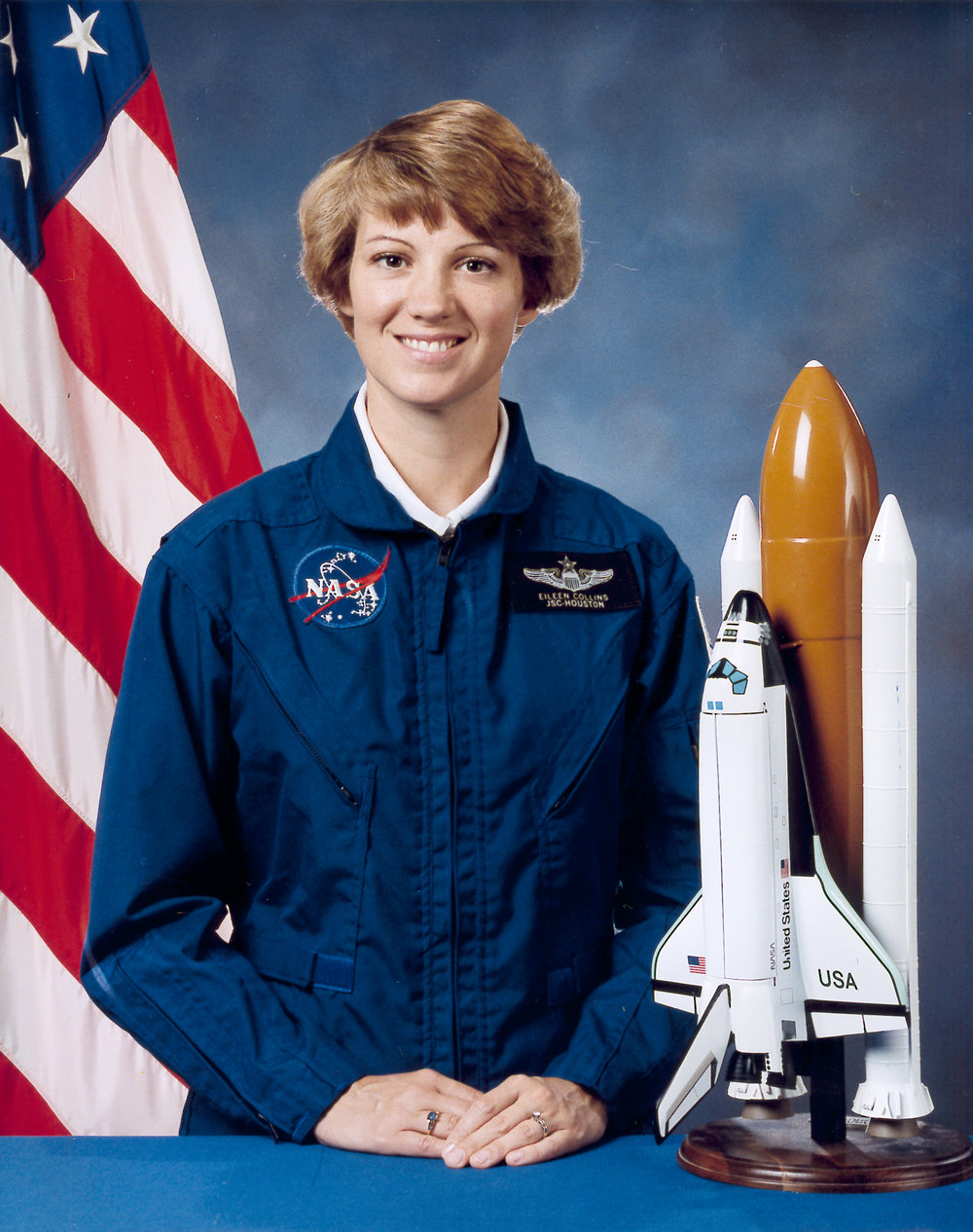 Eileen Collins - First female commander of a Space Shuttle