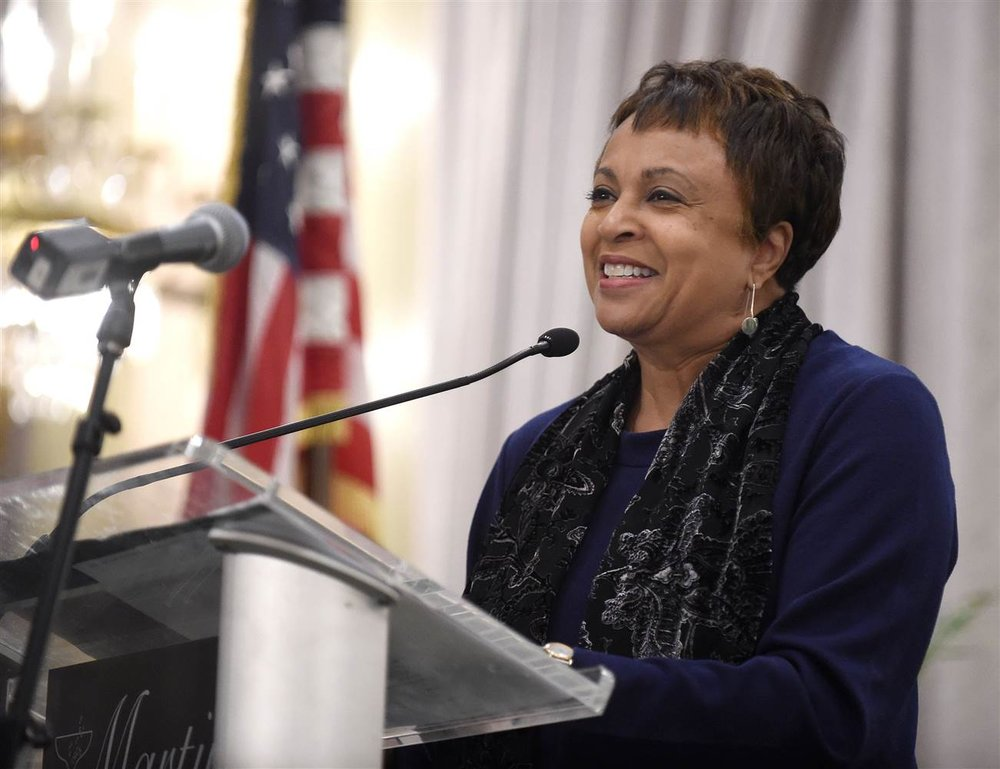 Carla Hayden  - First woman and first Black American to be the Librarian of Congress
