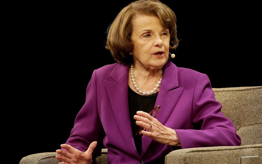 Dianne Feinstein - First and only woman to have chaired the Senate Rules Committee and the Select Committee on Intelligence, the only woman to have presided over a U.S. presidential inauguration, first female mayor of San Francisco, longest serving U.S. senator