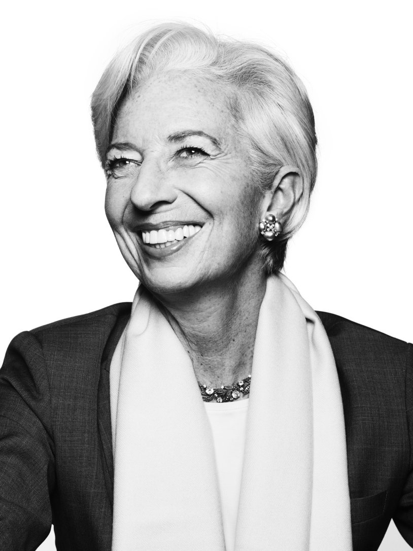 Christine Lagarde - First female head of the IMF, first woman to head a G8 economy