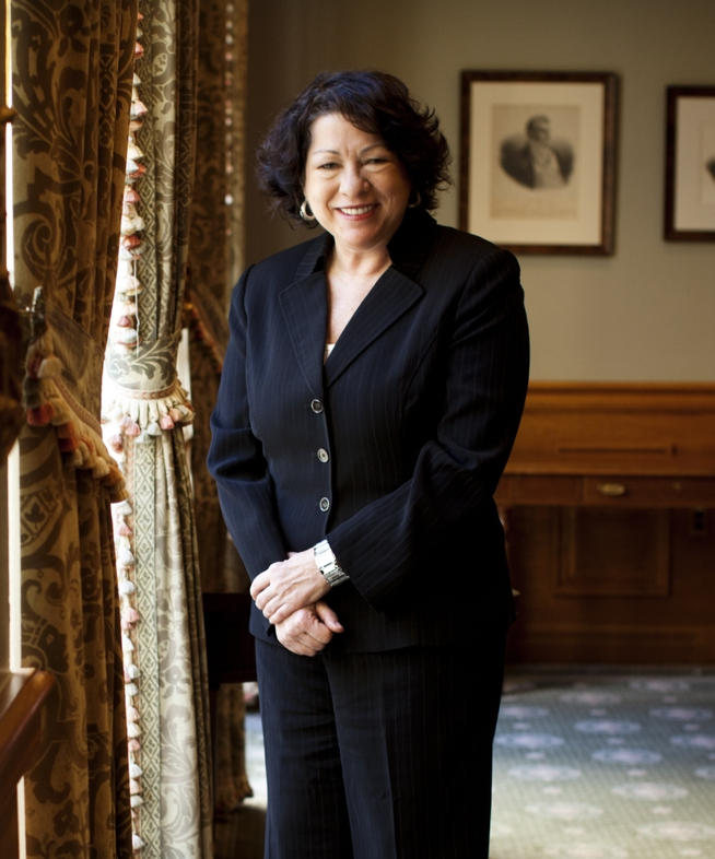 Sonia Sotomayor - First Hispanic Supreme Court Justice, Third Female Supreme Court Justice