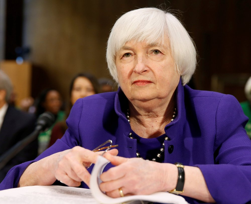 Janet Yellen - First woman to head the Federal Reserve