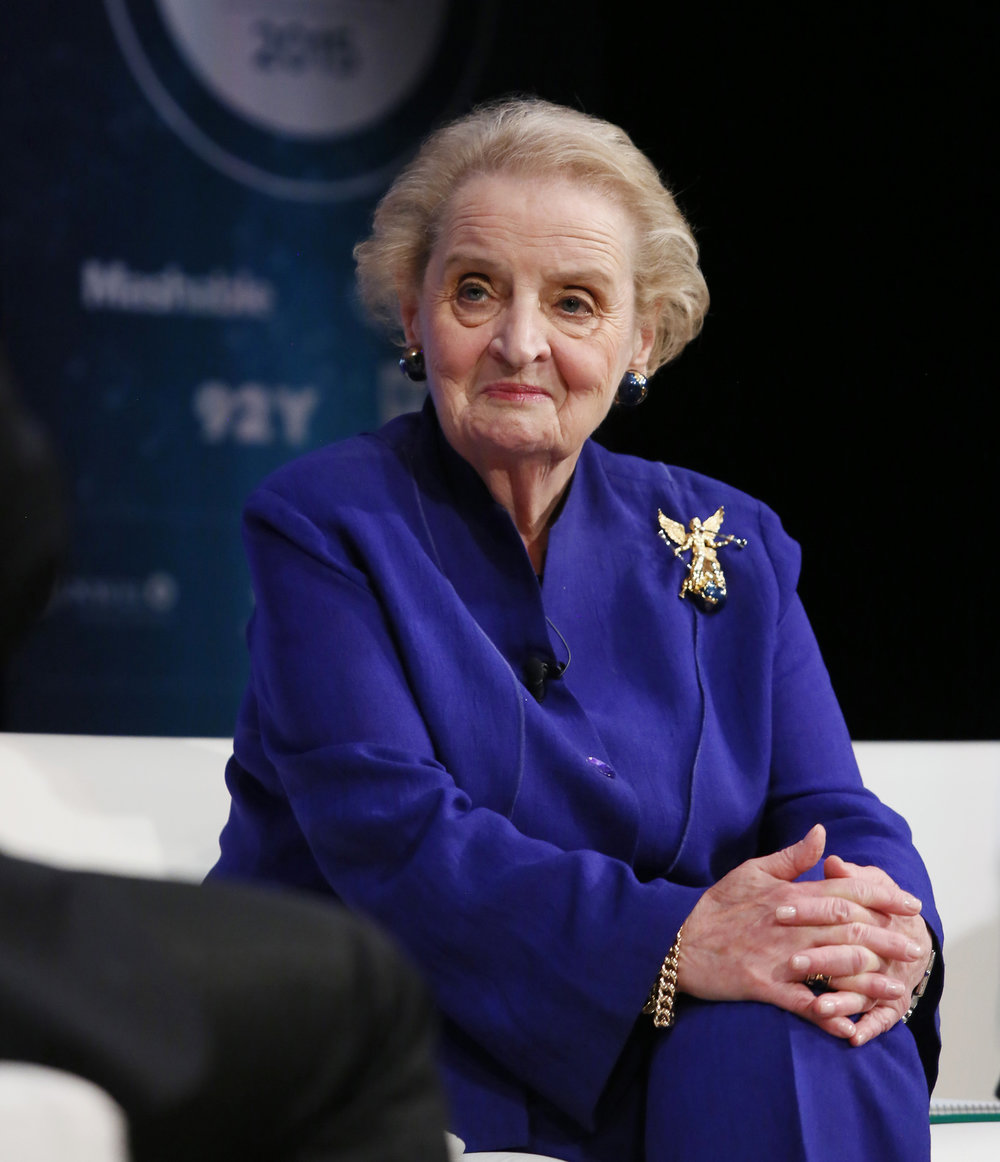 Madeleine Albright - First Female Secretary of State