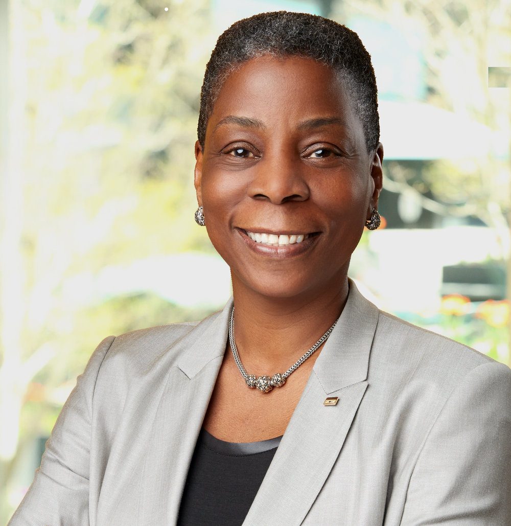 Ursula Burns - First black woman to run a Fortune 500 company
