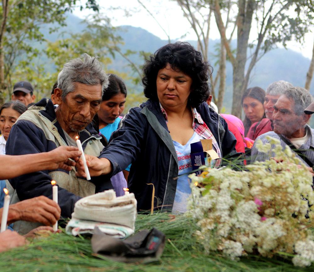 Berta Cáceres - World renowned environmental and indigEnous rights activist