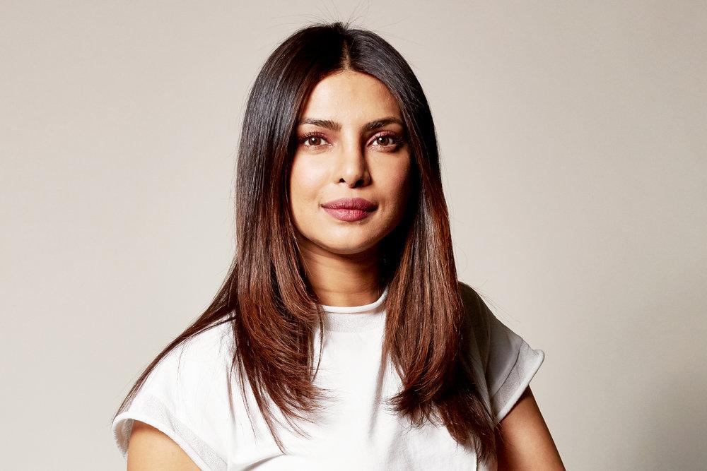 Priyanka Chopra - Award winning Indian actress, singer, producer, human rights activist, and the first South Asian to headline an American network drama series.