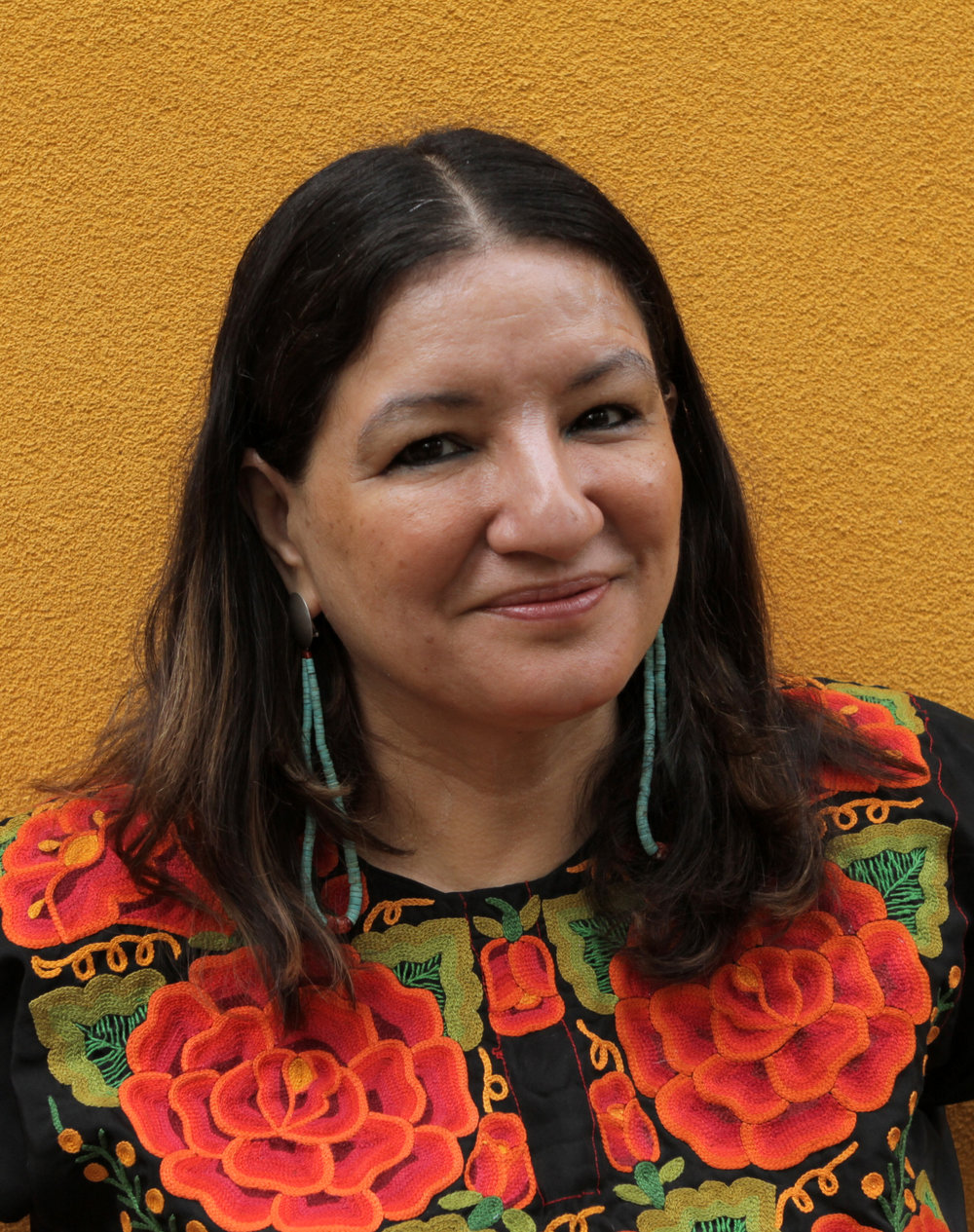 Sandra Cisneros - Mexican-American award winning author and activist.
