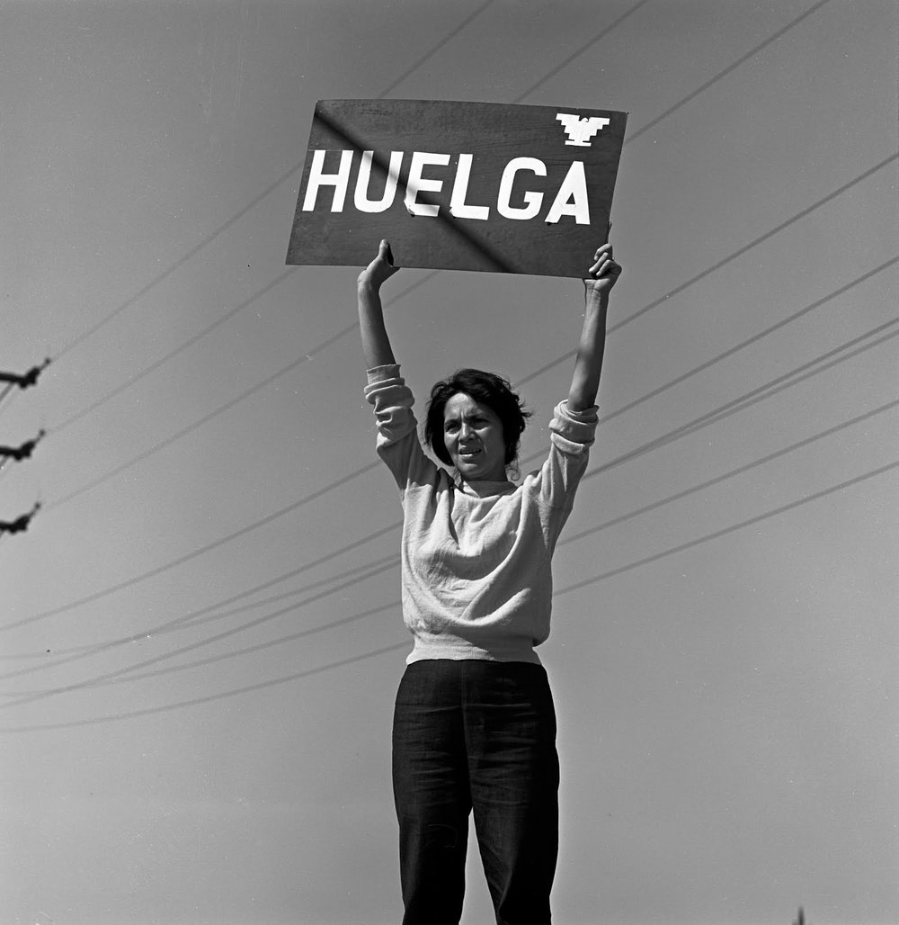 Dolores Huerta - Labor leader, civil rights activist, co-founder of the United Farm Workers