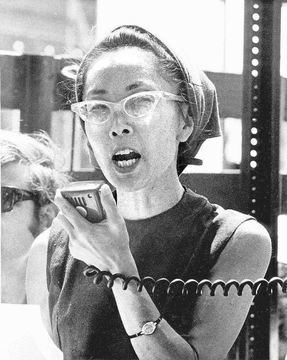 Yuri Kochiyama - Japanese-American civil rights activist