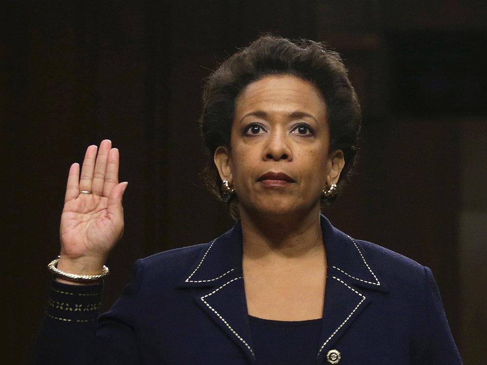 Loretta Lynch - First African American female Attorney General