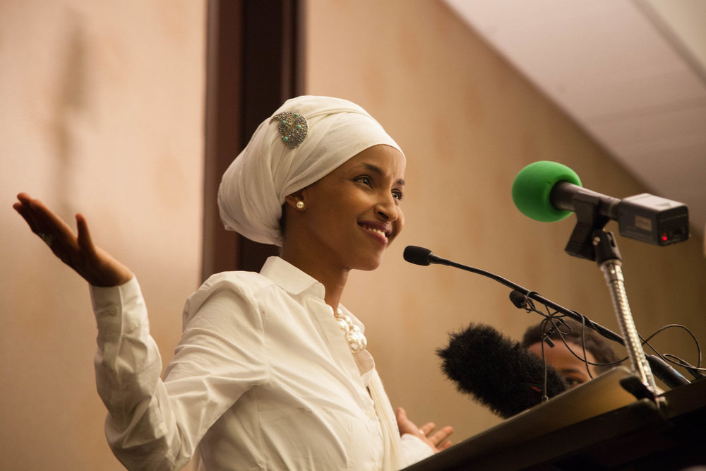 Ilhan Omar - First elected Somali-American legislator