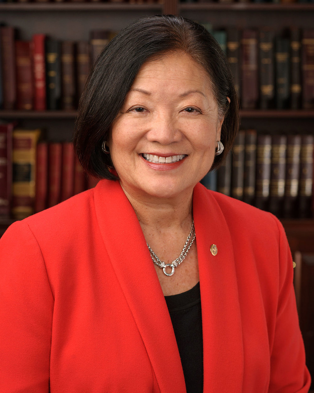 Mazie Hirono - First Asian-American woman, first Buddhist, and first Japanese-born American to be elected to the Senate