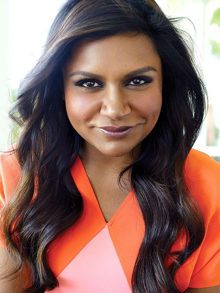 Mindy Kaling - Indian-American writer, actress, and producer known for The Office and The Mindy Project