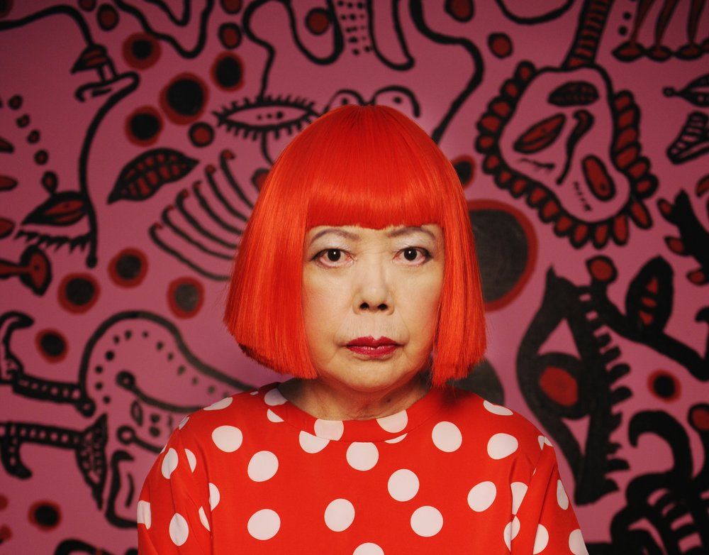 Yayoi Kusama - Japanese-American visual artist, previous record holder for highest price for a work by a living female artist