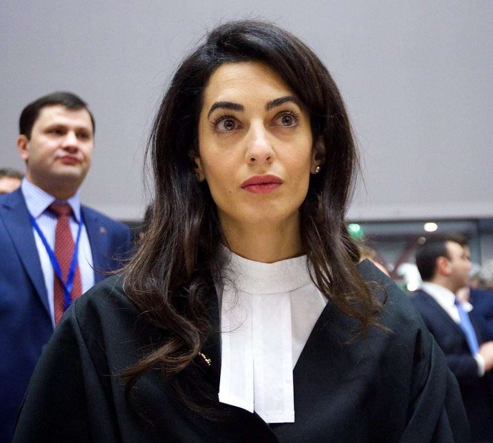 Amal Clooney - Internationally celebrated human rights lawyer and advocate.