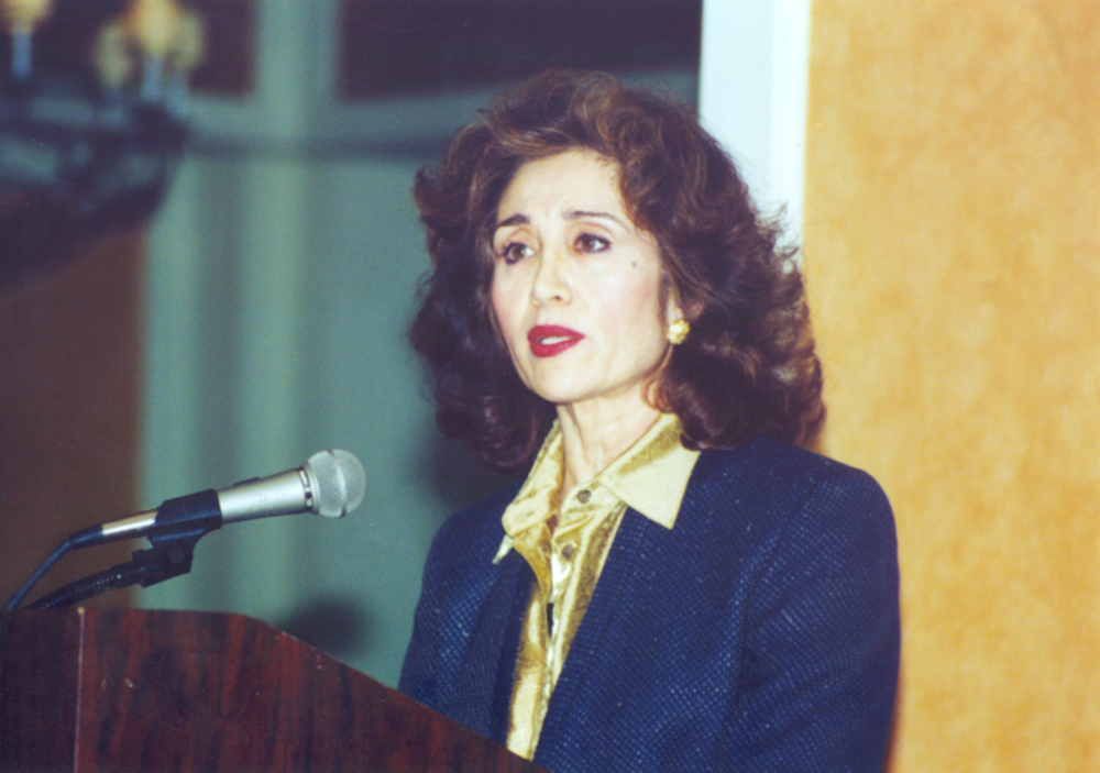 Sima Wali - Afghan human rights advocate and Chief Executive Officer of Refugee Women in Development (RefWID), Inc.