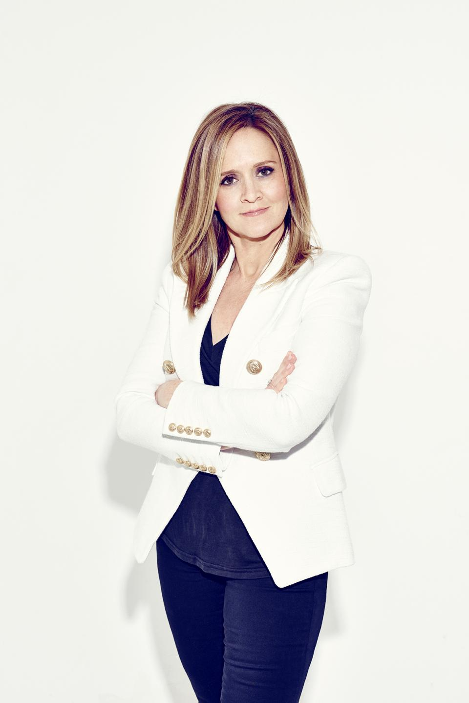 Samantha Bee - The most prominent female comedian on late night TV