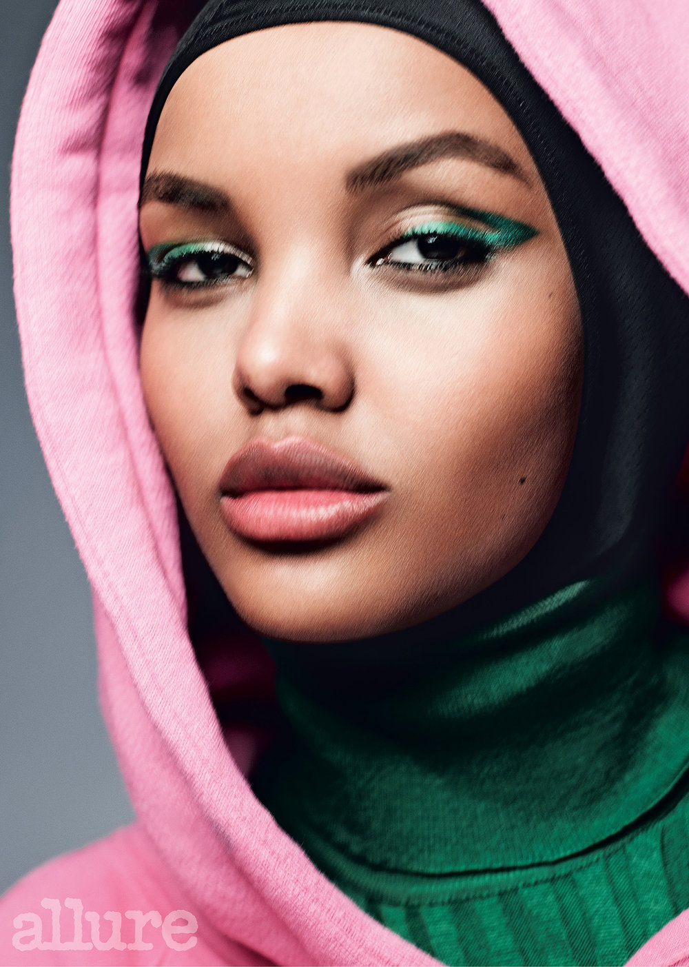 Halima Aden - First hijabi to be signed to a major modeling company, walk international runways, and be on the cover of Vogue