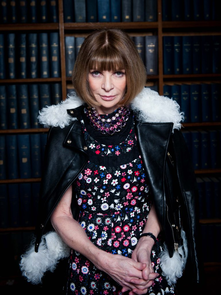 Anna Wintour - Editor-in-chief of Vogue since 1988, artistic director of Condé Nast