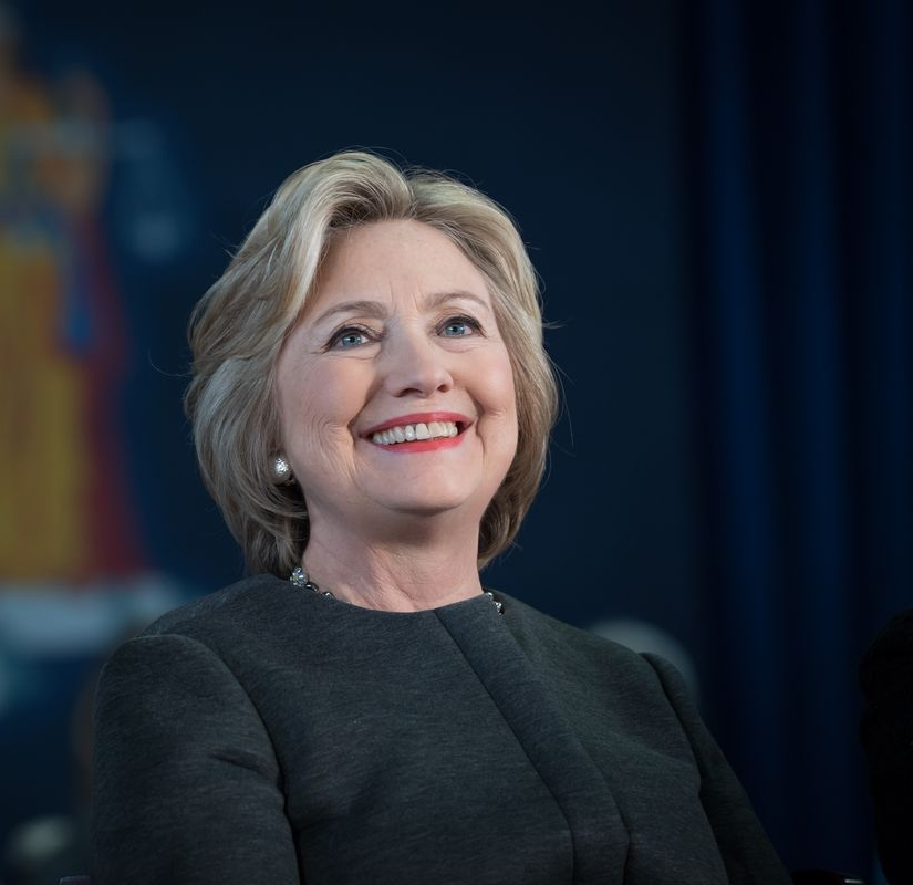 Hillary Clinton - First female major party nominee for President of the United States, third female Secretary of State, first female senator for New York