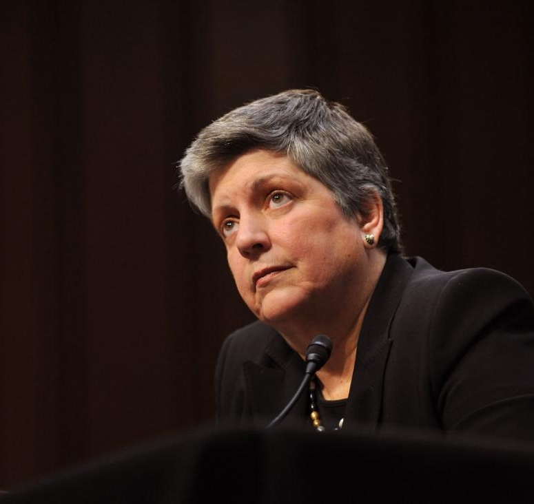 Janet Napolitano - First female Secretary of Homeland Security