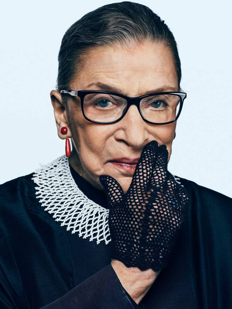 Ruth Bader Ginsberg - The Notorious R.B.G., and the second woman confirmed to the Supreme Court