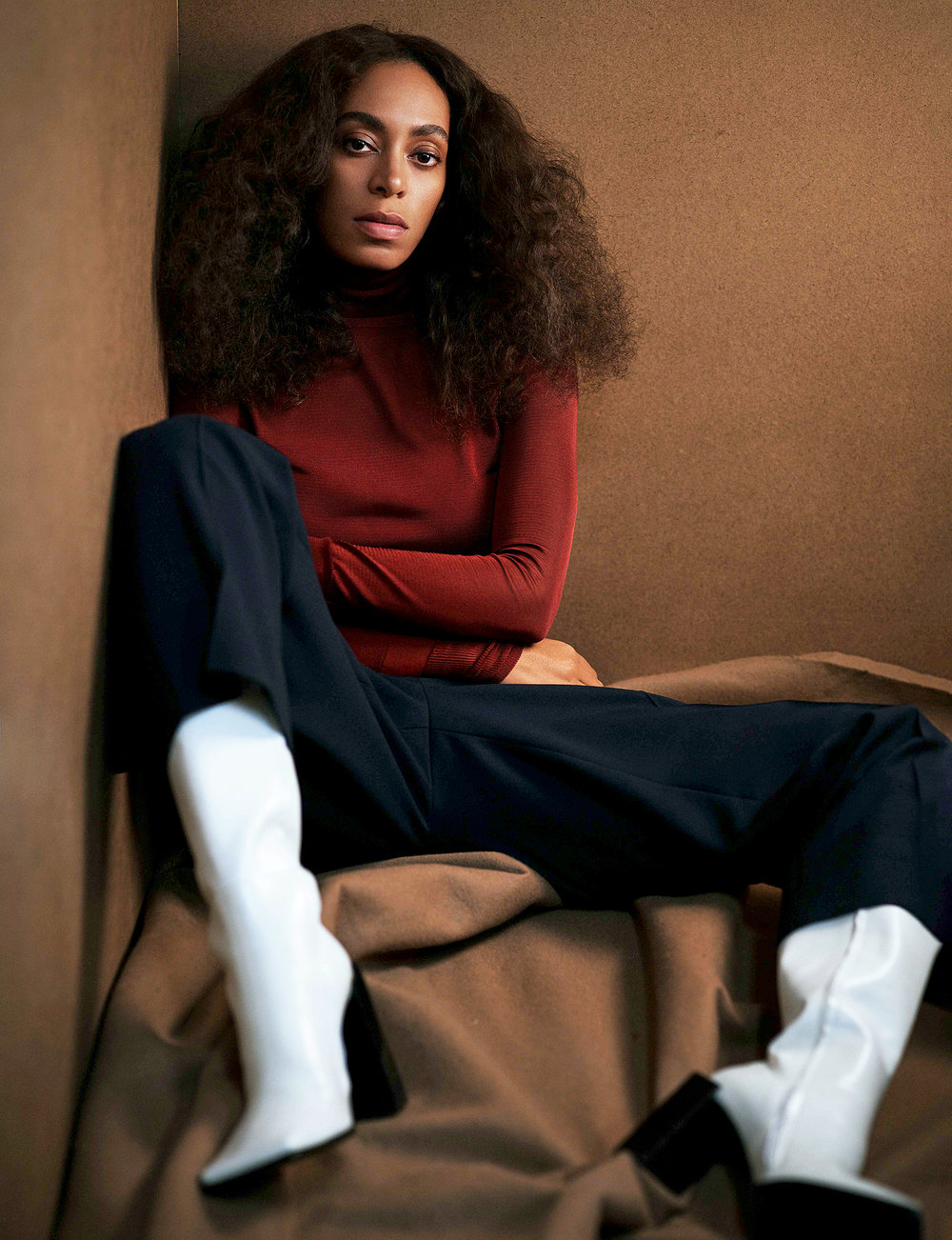 Solange Knowles - American singer, songwriter, model, activist, and actress. 2017 Glamour Women of the Year