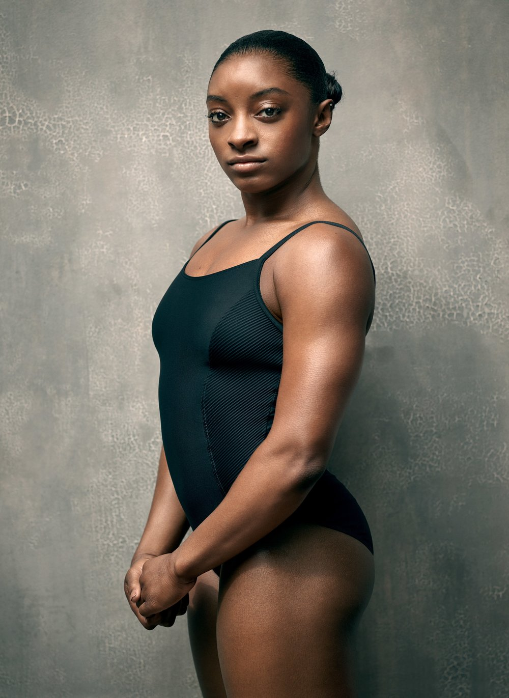 Simone Biles - Singer, dancer, actress, and political activist showing young girls how it's done