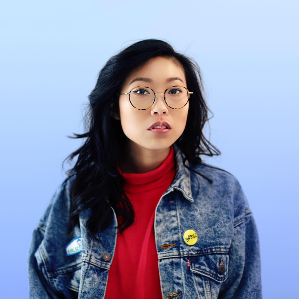 Awkwafina - Korean-American rapper and comedienne, and starring in Oceans 8