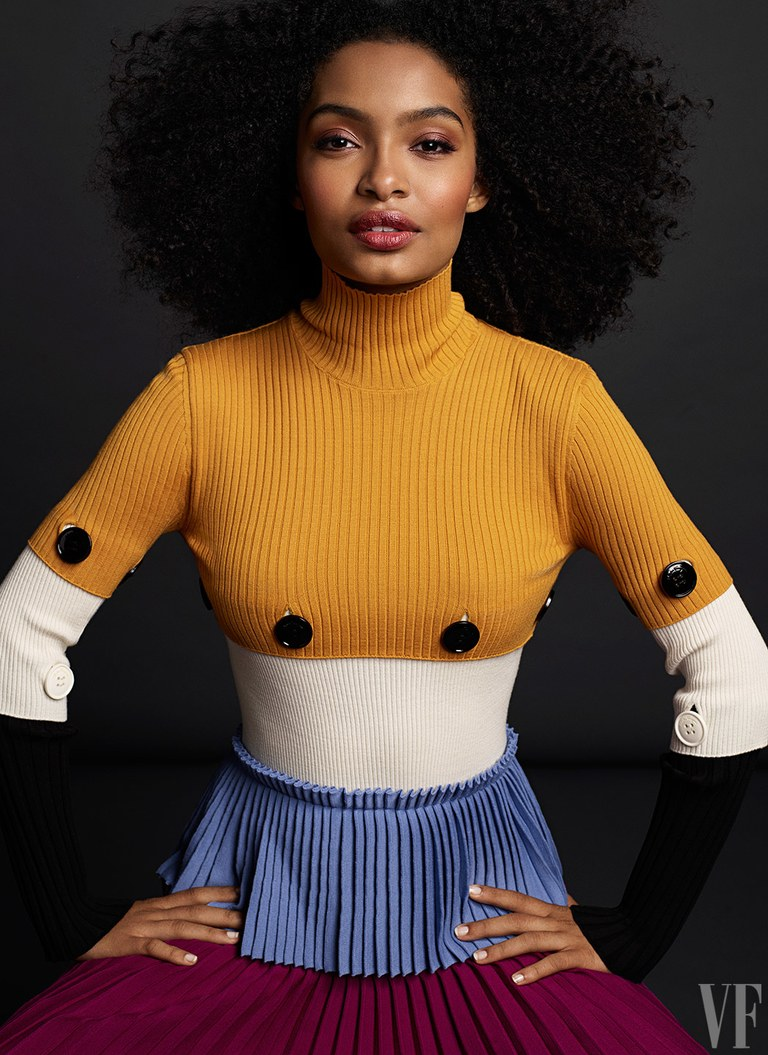 Yara Shahidi - Black Persian-American actress and human rights activist