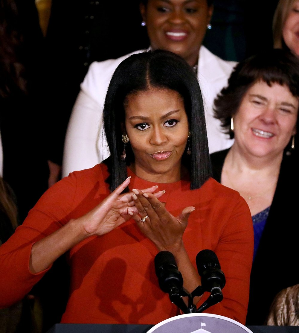 Michelle Obama - First African-American First Lady, writer, lawyer