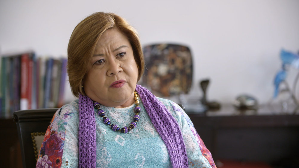 Leila de Lima - Filipina lawyer, human rights activist and politician
