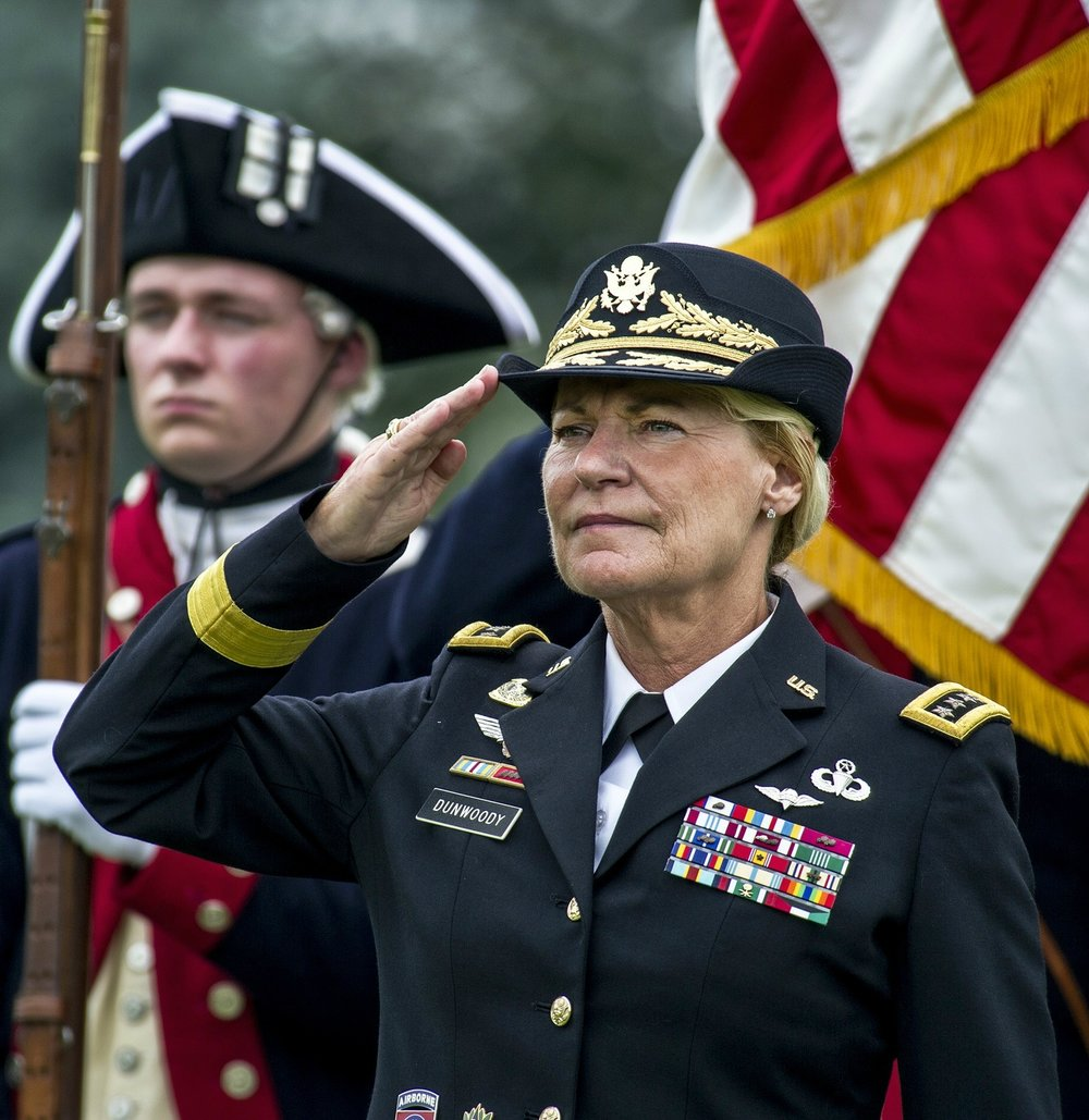 Ann Dunwoody - The first woman in U.S. military history to become a four star general