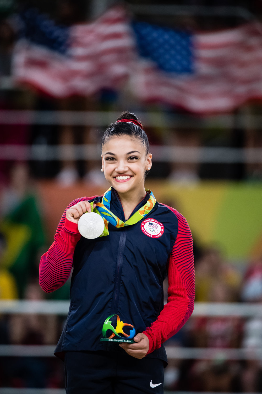 Laurie Hernandez - American gymnast and two time Olympic medalist