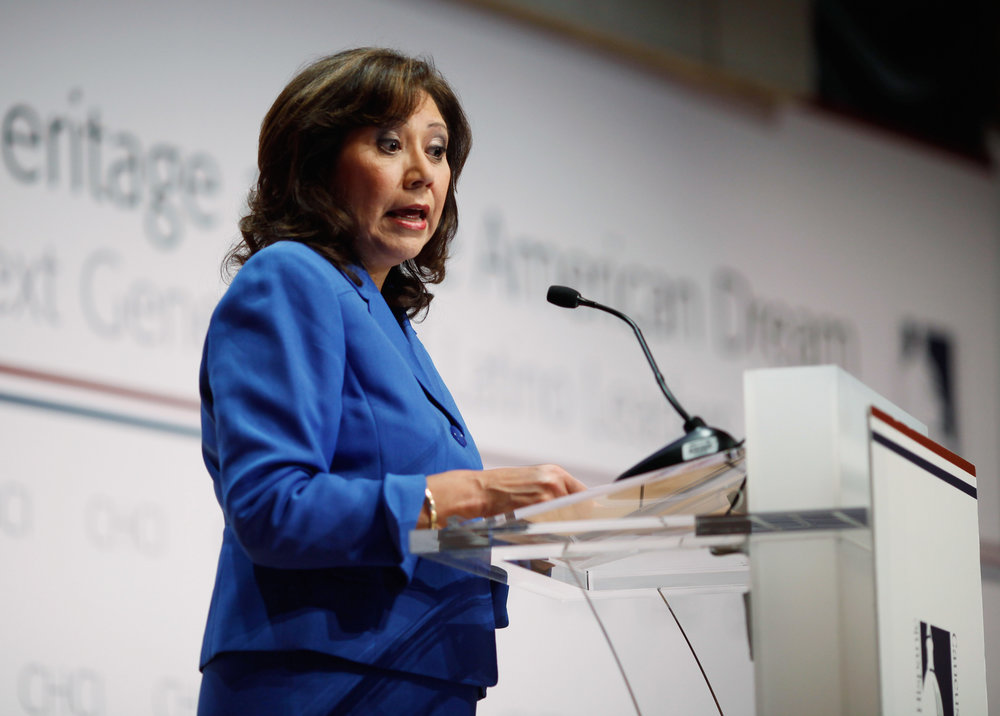 Hilda Solis - First Hispanic woman to serve in the U.S. Cabinet