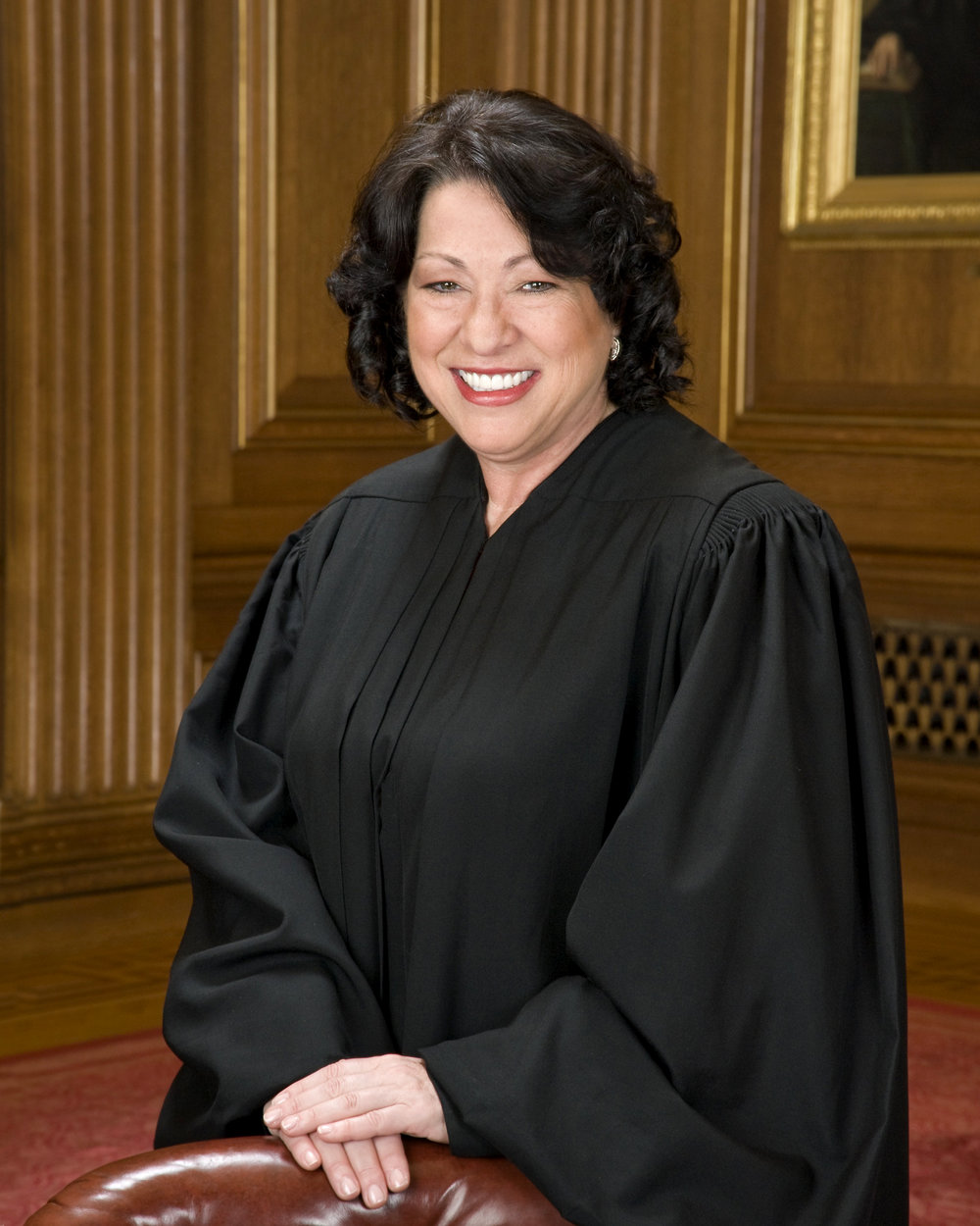 Sonia Sotomayor - First Hispanic woman to serve in the U.S. Cabinet