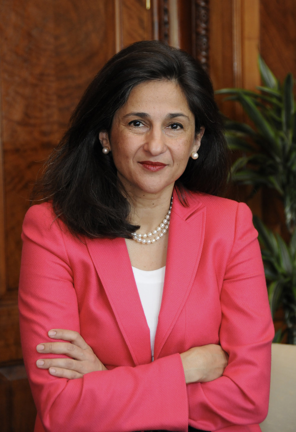 Nemat Shafik - British-American economist, former Deputy Governor of the Bank of England, current director of the London School of Economics