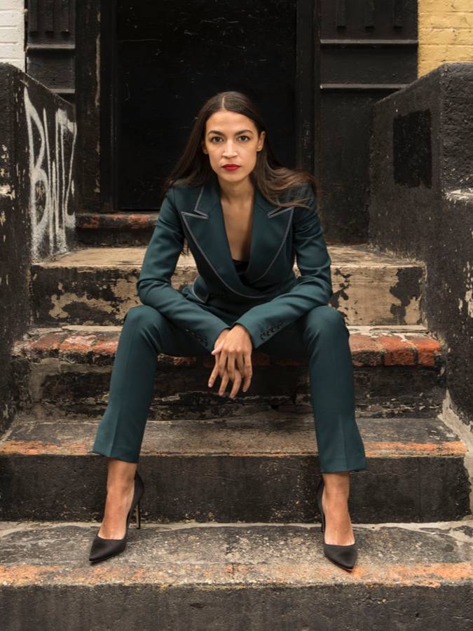 Alexandra Ocasio-Cortez - Youngest Woman Ever to Serve in the United States Congress