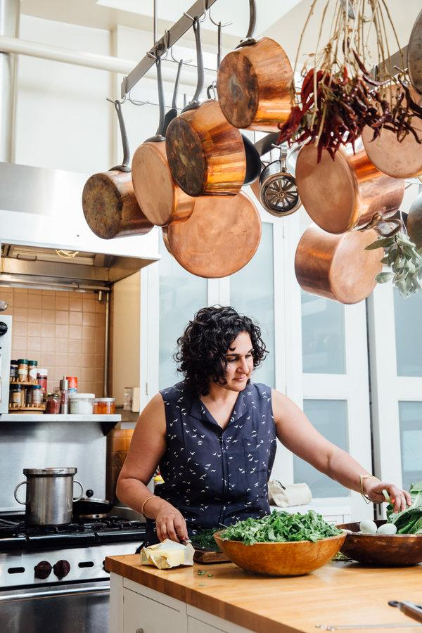 Samin Nosrat - Chef and Food Writer known for Salt, Fat, Acid, Heat