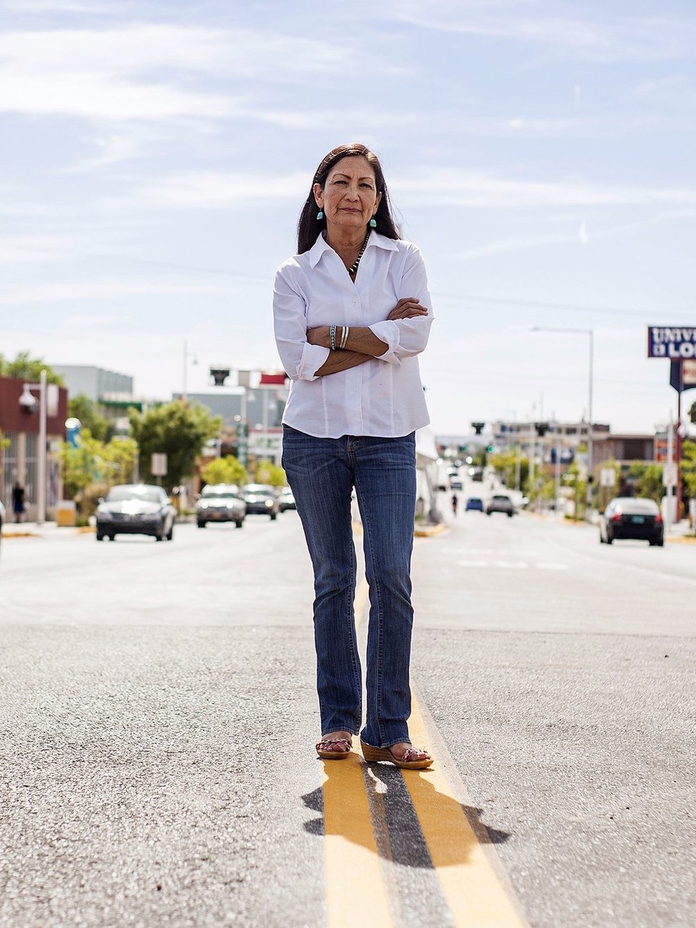 Deb Haaland - One of the First Two Native American Women to be Elected to the United States Congress