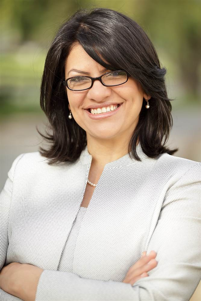 Rashida Tlaib - One of the First Two Muslim Women Elected to Congress
