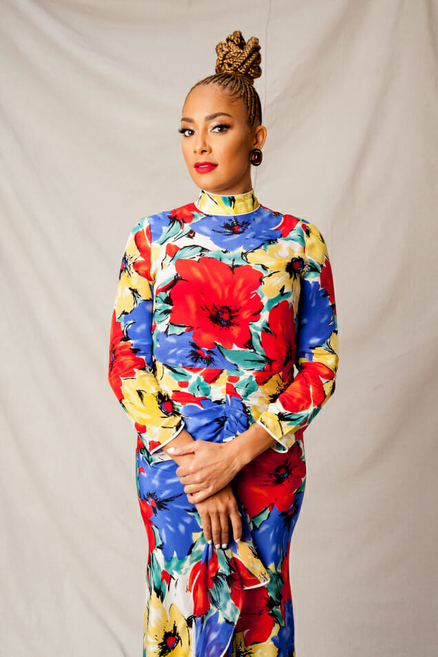 Amanda Seales - ComediAn, actress, DJ, and musician (with a master's from Columbia) known for Insecure