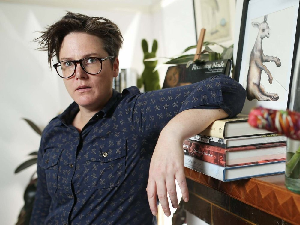 Hannah Gadsby - Australian Comedian, Writer, and Art Historian known for Nanette and Please Like Me