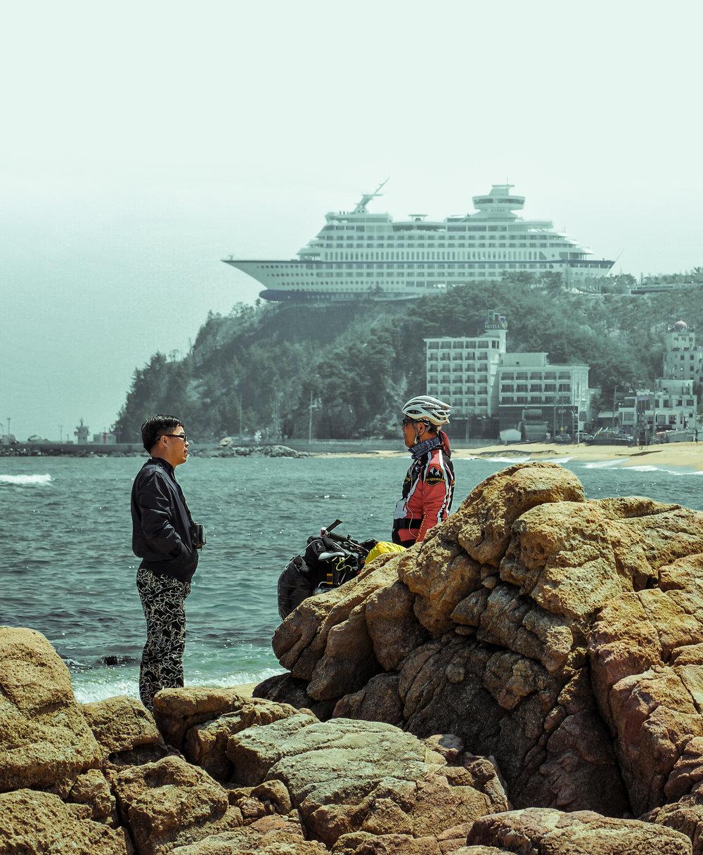 Jeongdongjin Beach, South Korea
