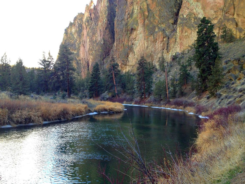 Smith Rock and Crooked River