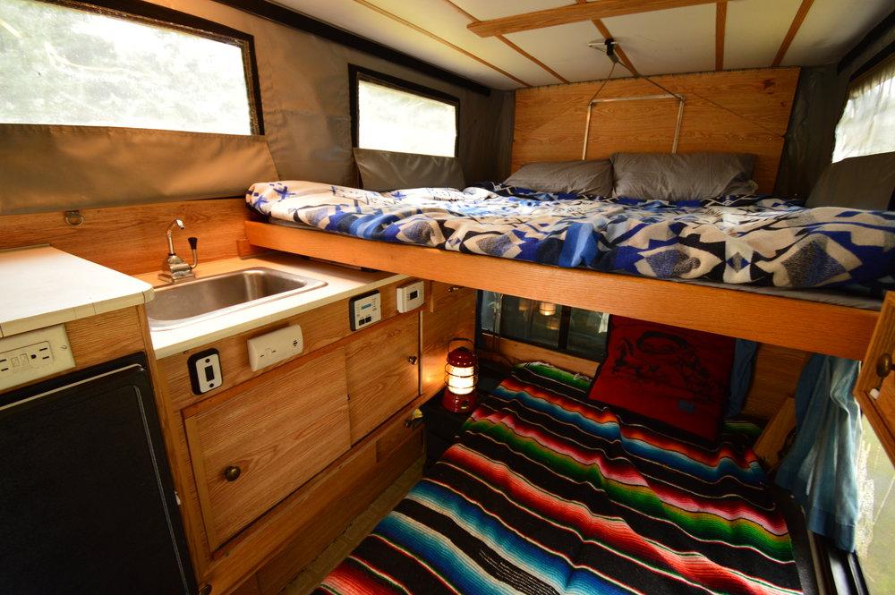 Four wheel camper, truck camper, pop-up camper, van camper, camping, pacific northwest, kitted out, overlanding, 4WD,Portland, Oregon