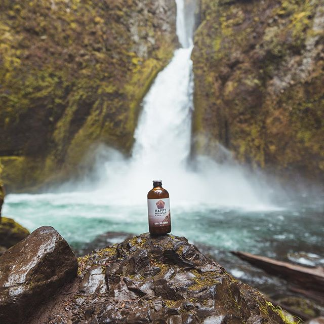 Cold local brewed kombucha and a sweet watering hole, what more could you want on these hot summer days?! We've partnered with local companies to provide adventure snack packs to enhance your expedition experience! @hmkpnw is brewed right here in the #pnw, created to fuel and inspire the adventurous spirit! Salud! #hmkpnw #wexpeditions 📸:@nathanaelbillings . . . . . #kombucha #adventuresnackpacks #northwest #drinkhmk #drinkhappybehappy #wateringhole #happymountain #whatsyouradventure #summerfun #happyplace